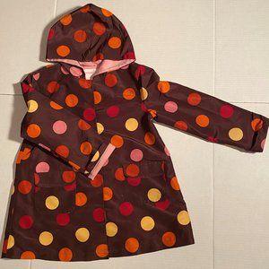 Gymboree Big Woven Rain Coat